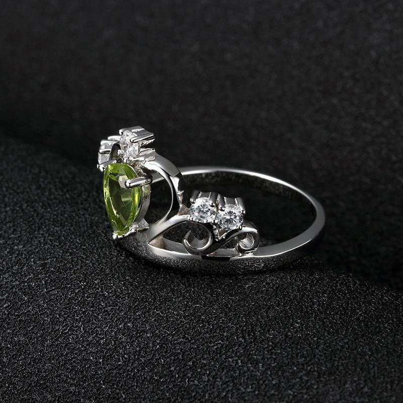 Claddagh Royal Crown Ring 925 Sterling Silver